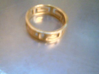 Lady's Gold Ring 14K Yellow Gold 3.6g