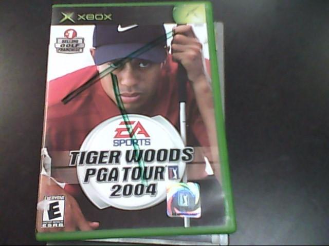 MICROSOFT Microsoft XBOX Game TIGER WOODS PGA TOUR 2004