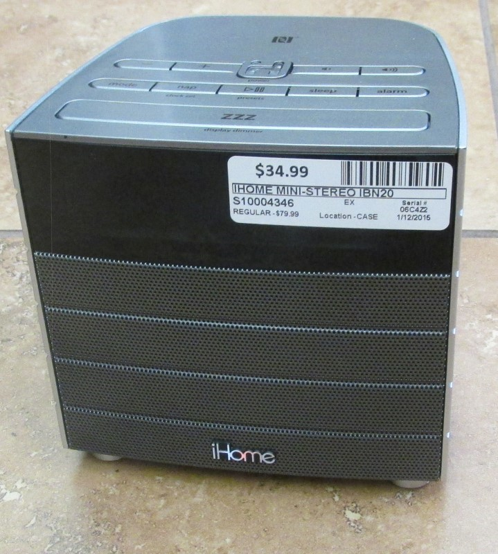 IHOME Mini-Stereo IBN20