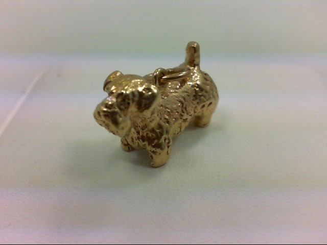 Gold Charm 14K Yellow Gold 10.4g