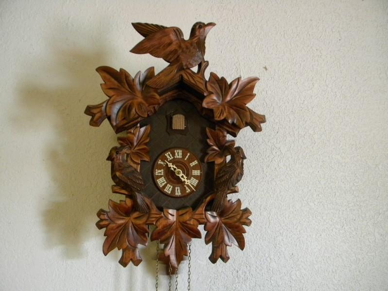 ALBERT SCHWAB CUCKOO CLOCK