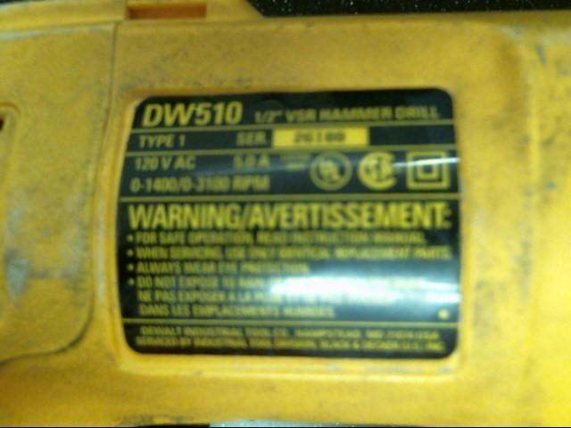 DEWALT Cordless Drill DW510