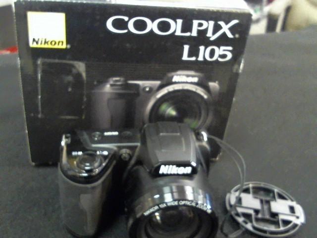 NIKON Digital Camera COOLPIX L105