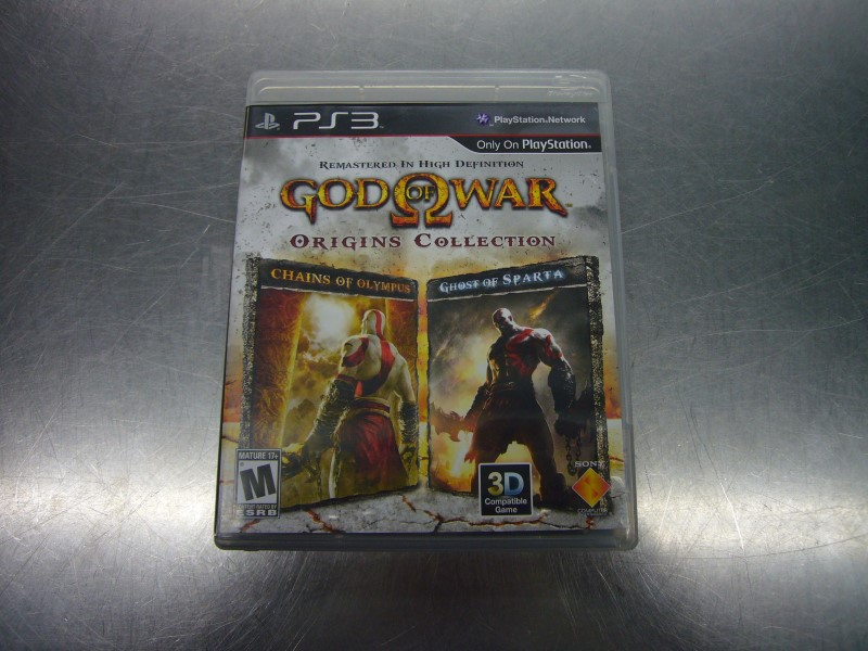 SONY PlayStation 3 Game GOD OF WAR ORIGINS COLLECTION