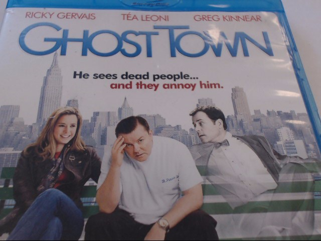 GHOST TOWN - BLU-RAY MOVIE