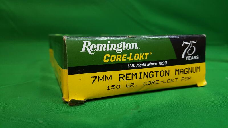 REMINGTON FIREARMS Ammunition 7MM REM MAG (R7MM2)