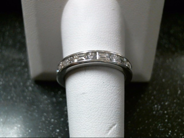 Gent's Platinum-Diamond Wedding Band 22 Diamonds 2.53 Carat T.W. 950 Platinum