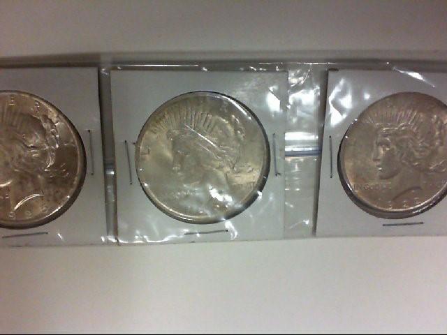3 PEACE $ 1923 22 25