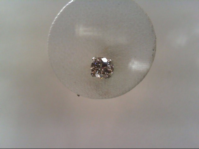 Gold-Diamond Earrings 2 Diamonds .50 Carat T.W. 14K White Gold 1.2g