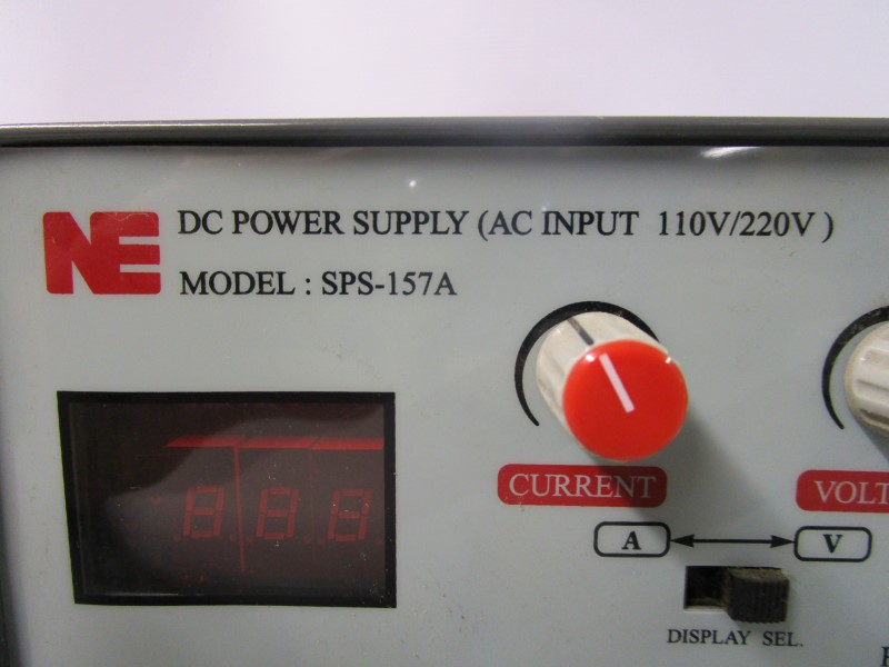 NE DC POWER SUPPLY SPS-157A