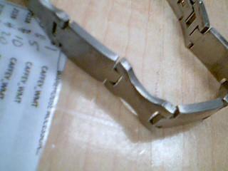 Bracelet Silver Stainless 56.1g