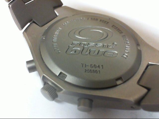 FOSSIL BLUE SPEEDWAY TITANIUM Gent's Wristwatch TI-5041