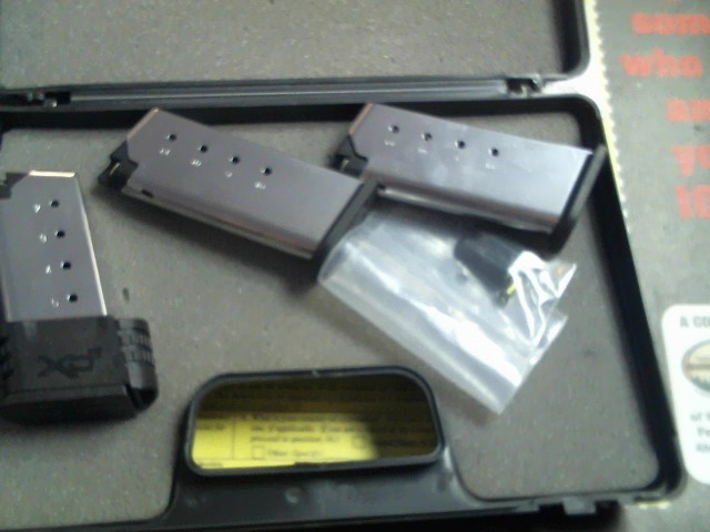 SPRINGFIELD ARMORY Accessories MAGAZINE - XD 45 - COMPACT 10 ROUND
