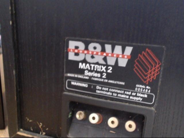 BW LOUDSPEAKERS Surround Sound Speakers & System 805 MATRIX