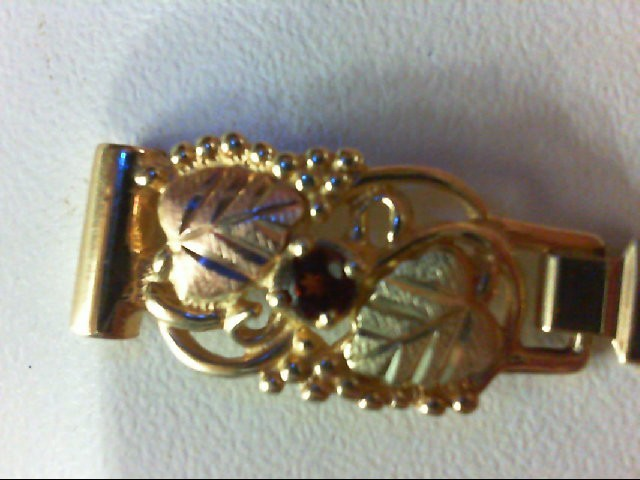 BLACK HILLS GOLD Almandite Garnet Watch Band WATCH CUFFS 0.05g