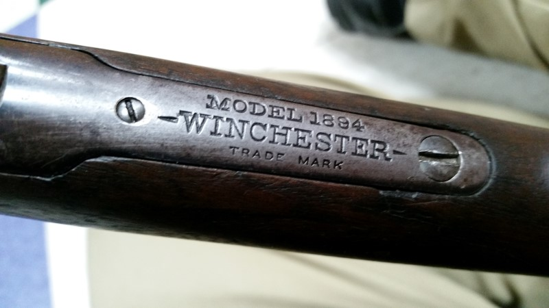 WINCHESTER 1894 LEVER ACTION 30-30 RIFLE (1903)