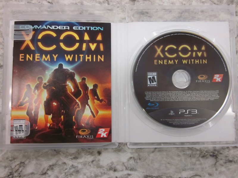 SONY GAME XCOM ENEMY WITHIN PS3