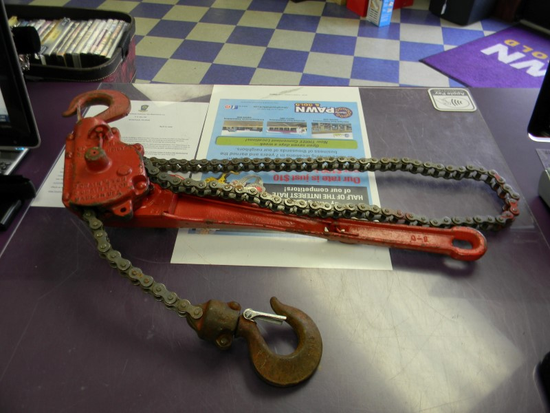 Miscellaneous Tool COME ALONG CHAIN