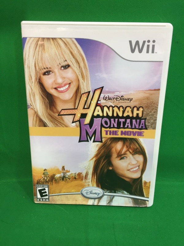 NINTENDO Nintendo Wii Game HANNAH MONTANA THE MOVIE WII