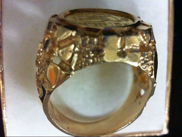 Gent's Gold Ring 14K Yellow Gold 12.4g