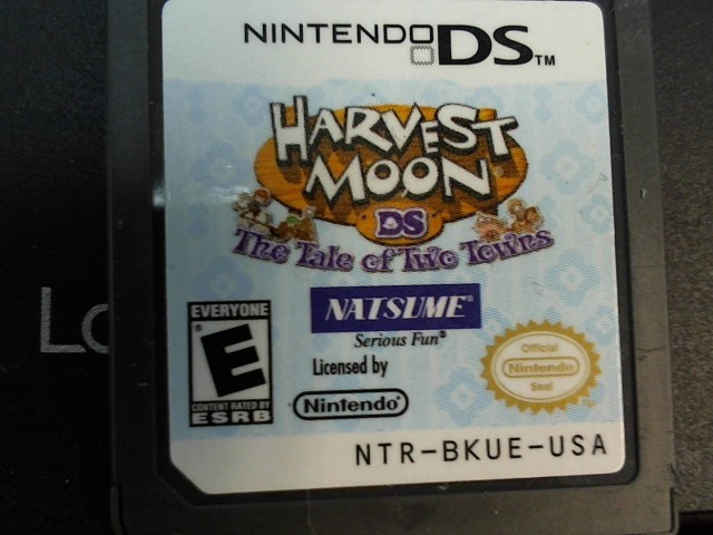 HARVEST MOON THE TAIL OF 2 TOWNS