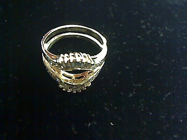 Lady's Gold-Diamond Ring Guard 26 Diamonds .40 Carat T.W. 14K Yellow Gold