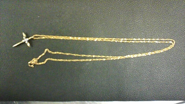 Gold Curb Chain 14K Yellow Gold 2.3g