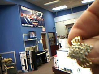 Lady's Diamond Cluster Ring 25 Diamonds .50 Carat T.W. 10K Yellow Gold 4.6g
