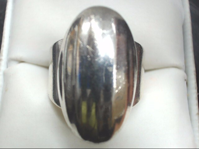 Lady's Silver Ring 925 Silver 14.4g Size:9.5