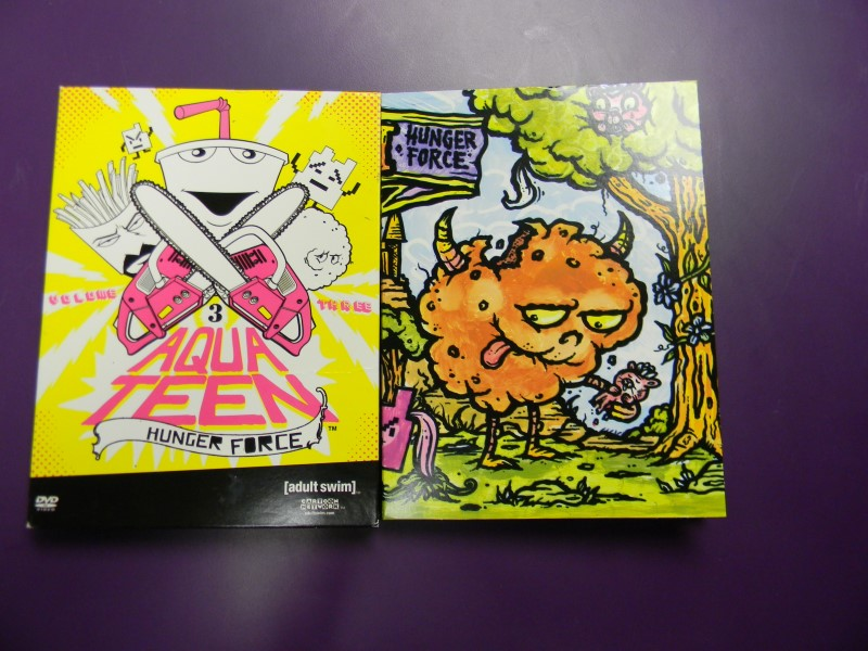 Aqua Teen Hunger Force Volume Three 3 on DVD