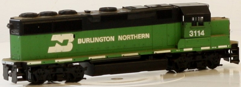ATHEARN 4683 GP50 DMY BURLINGTON NORTHERN HO LOCOMOTIVE ENGINE