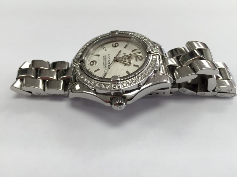 Breitling A77350 Colt Oceane Ladies Diamond Watch