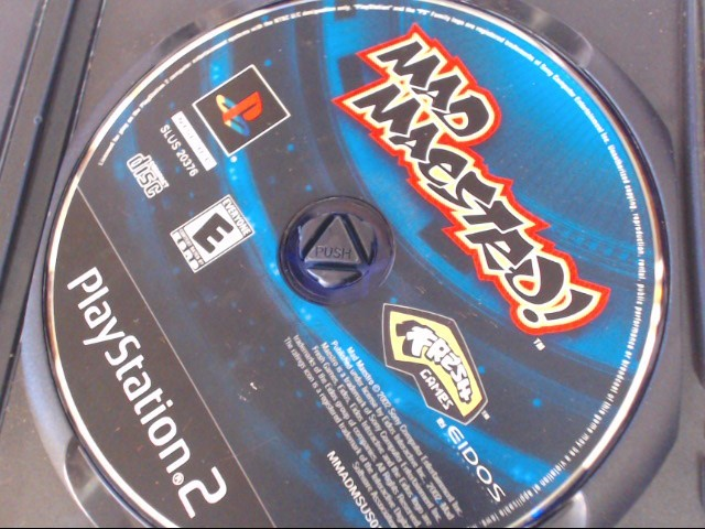 MAD MAESTRO SONY PLAYSTATION 2