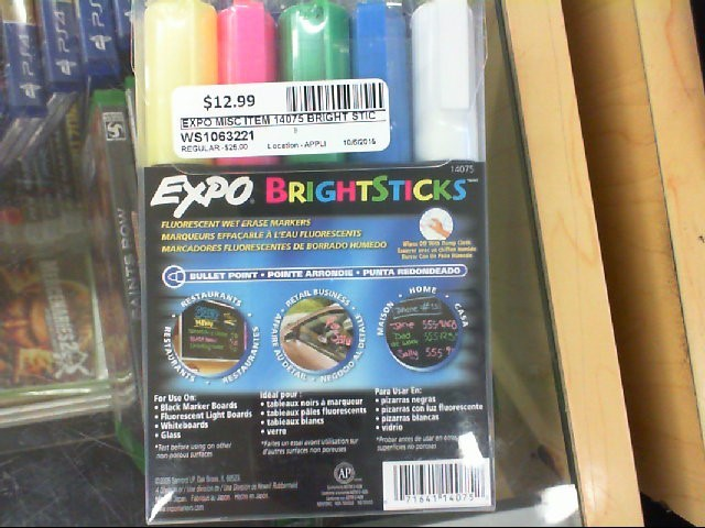 EXPO 14075 BRIGHT STICKS