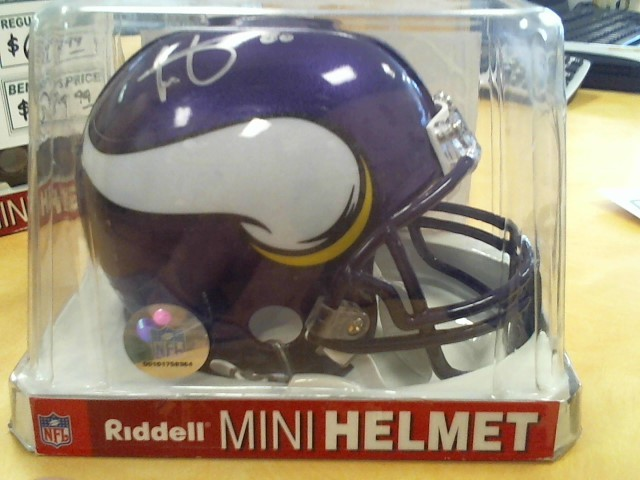 RIDDELL Sports Memorabilia MINI HELMET