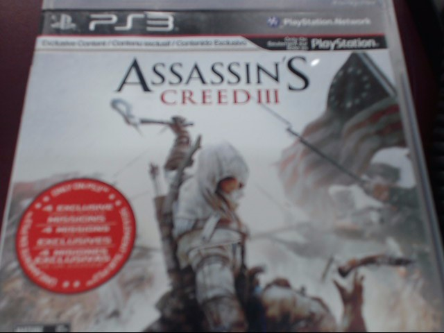 SONY PS3 ASSASSIN'S CREED III