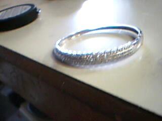 Gold Fashion Bracelet 14K White Gold 16.1g