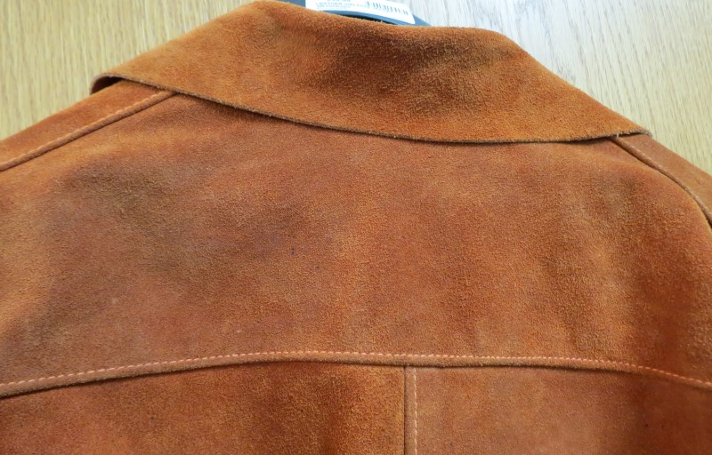 LEATHER WELDING JACKET, Suede