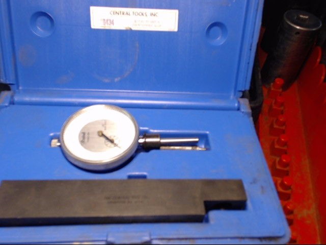 CENTRAL TOOLS Indicator 8434