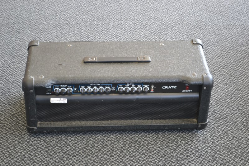 CRATE Electric Guitar Amp Head Only GT1200H