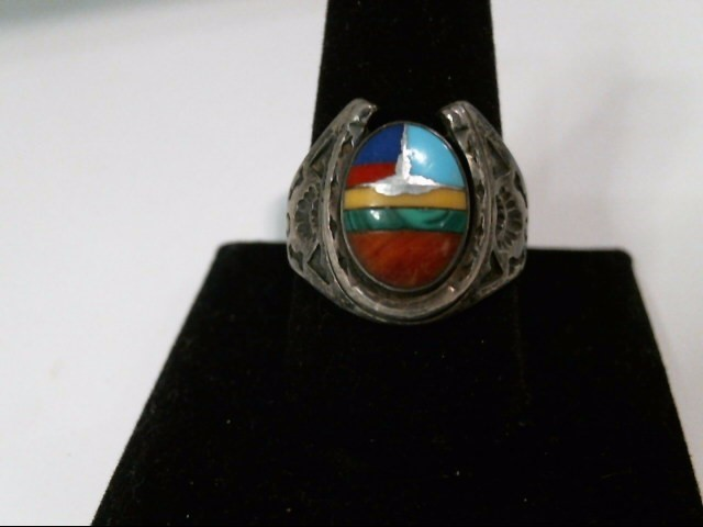 Gent's Silver Ring 925 Silver 11.5g