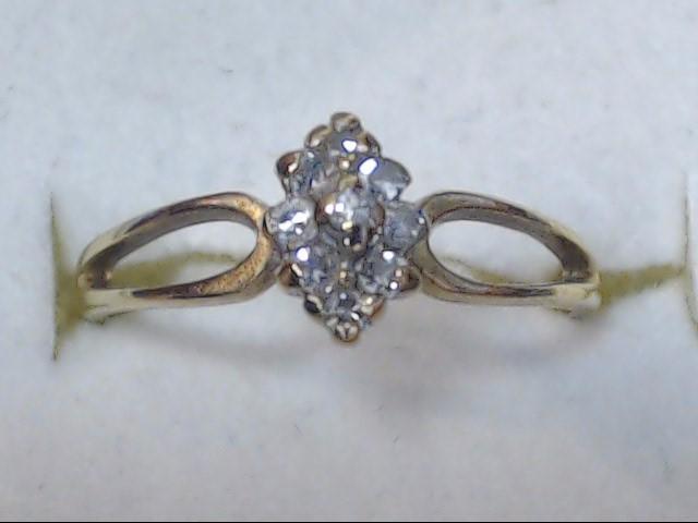 DIAMOND RING 10K 1.4G S-6