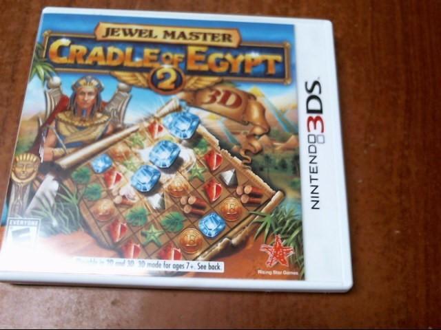 NINTENDO DS3 CRADLE OF EGYPT