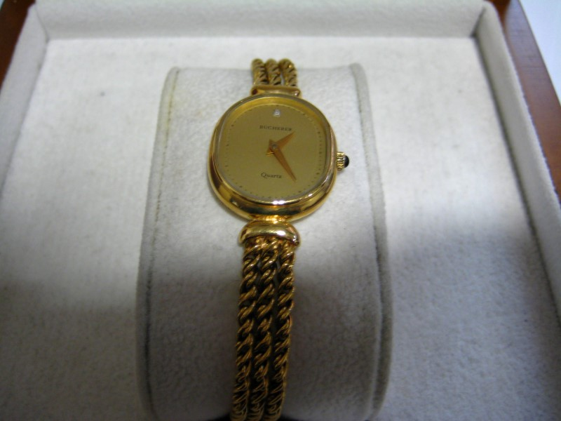 BUCHERER Lady's Wristwatch 14K (VALUE BY WEIGHT) VERIFY MANAGER