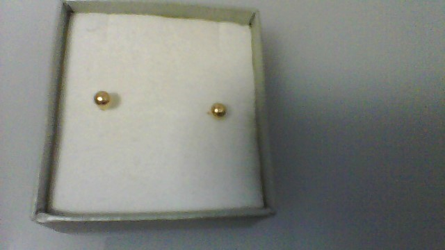 Gold Earrings 14K Yellow Gold 0.02g