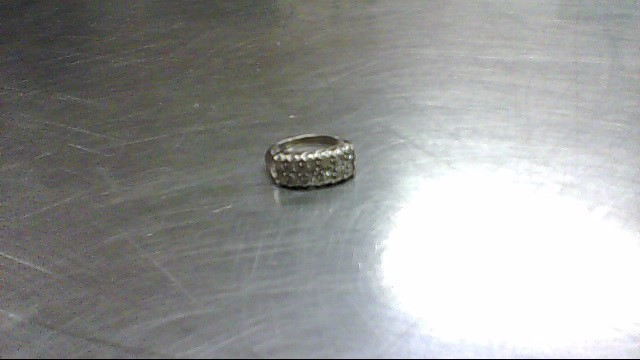 Lady's Diamond Fashion Ring 12 Diamonds .24 Carat T.W. 14K White Gold 3.8g