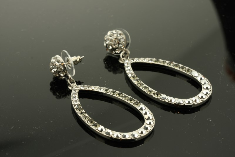 Earrings Silver Tungsten 5g
