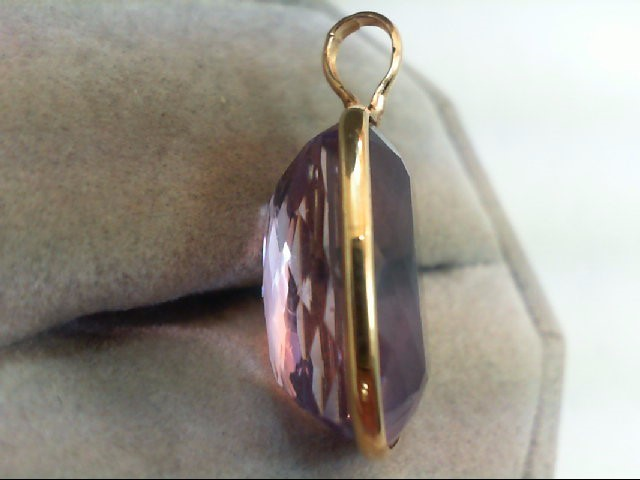 Gold Pendant 14K Yellow Gold 3.5g