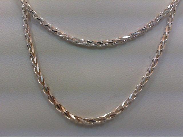 "18"" Silver Chain 925 Silver 10g"