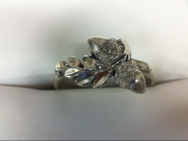 Lady's Silver Ring 925 Silver 1.6g Size:6.5